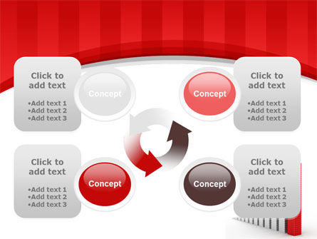 Column Chart PowerPoint Template Slide 9