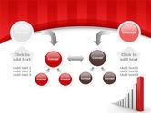 Column Chart PowerPoint Template#19