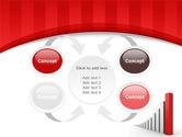 Column Chart PowerPoint Template#6