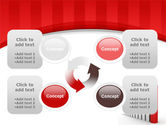 Column Chart PowerPoint Template#9