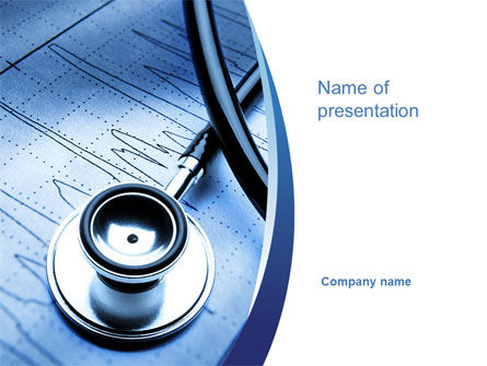 Cardiology PowerPoint Template, 10226, Medical — PoweredTemplate.com