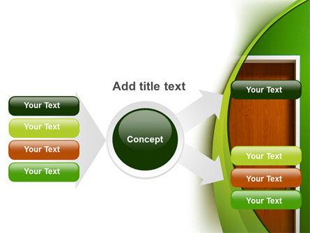 Door PowerPoint Template Slide 14