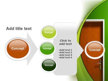 Door PowerPoint Template Slide 17