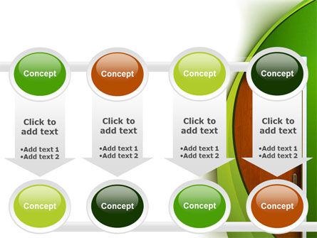 Door PowerPoint Template Slide 18