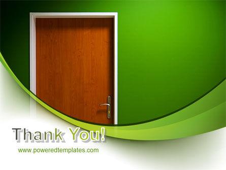 Door PowerPoint Template Slide 20