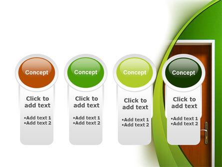 Door PowerPoint Template Slide 5