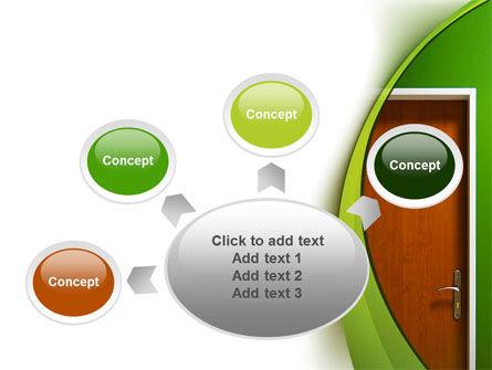 Door PowerPoint Template Slide 7