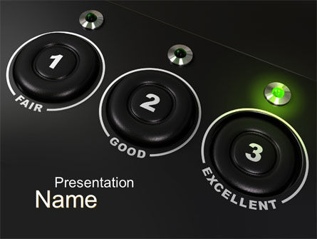 Evaluation PowerPoint Template, 10228, Technology and Science — PoweredTemplate.com