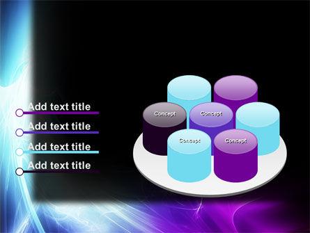 Blue Spectrum PowerPoint Template Slide 12