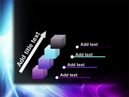 Blue Spectrum PowerPoint Template Slide 14