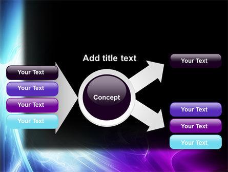 Blue Spectrum PowerPoint Template Slide 15