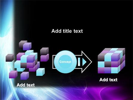 Blue Spectrum PowerPoint Template Slide 17