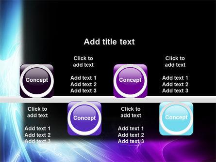 Blue Spectrum PowerPoint Template Slide 18