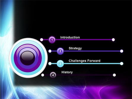 Blue Spectrum PowerPoint Template Slide 3