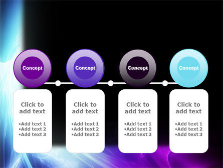 Blue Spectrum PowerPoint Template Slide 5