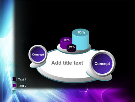 Blue Spectrum PowerPoint Template Slide 6
