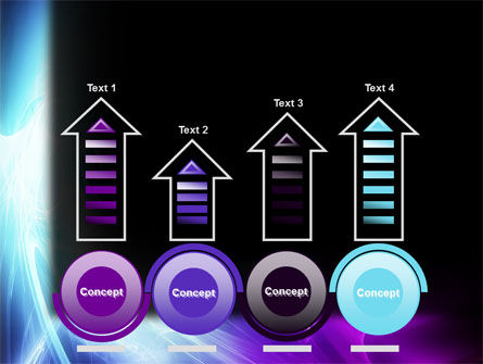 Blue Spectrum PowerPoint Template Slide 7