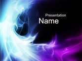 Abstract/Textures: Blue Spectrum PowerPoint Template #10229