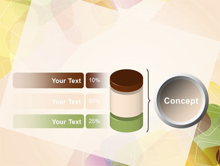 Colored Spots PowerPoint Template Slide 11