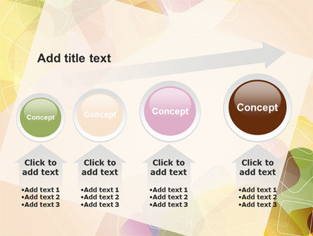 Colored Spots PowerPoint Template Slide 13