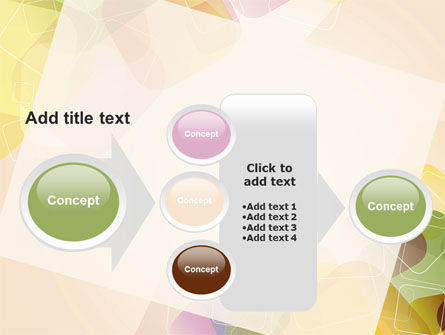 Colored Spots PowerPoint Template Slide 17