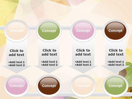 Colored Spots PowerPoint Template Slide 18