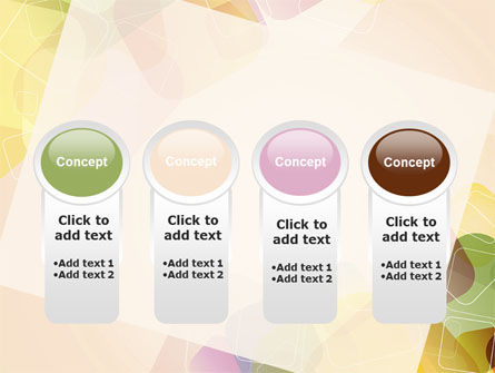 Colored Spots PowerPoint Template Slide 5