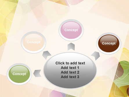Colored Spots PowerPoint Template Slide 7