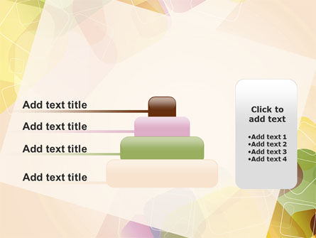Colored Spots PowerPoint Template Slide 8