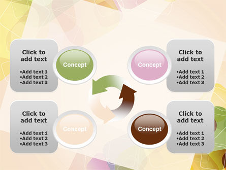 Colored Spots PowerPoint Template Slide 9