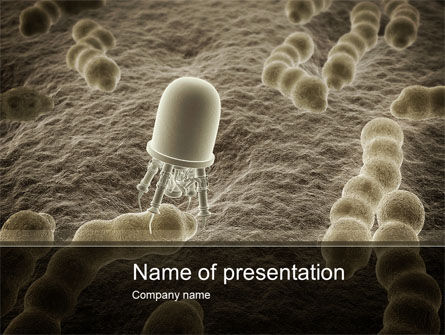 Nanobot PowerPoint Template, 10232, Medical — PoweredTemplate.com