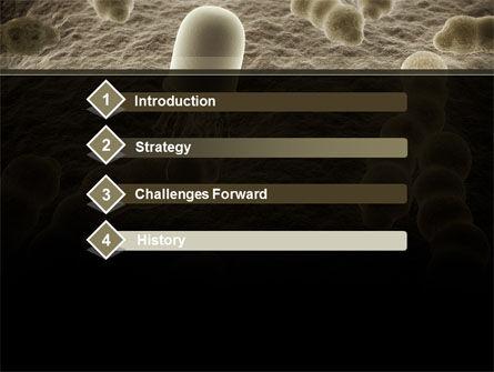 Nanobot PowerPoint Template, Slide 3, 10232, Medical — PoweredTemplate.com