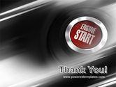 Start Engine PowerPoint Template#20