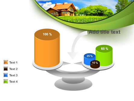 Village House PowerPoint Template Slide 10