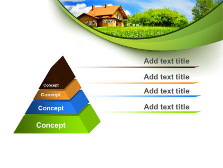 Village House PowerPoint Template Slide 12