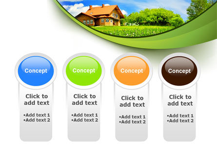 Village House PowerPoint Template Slide 5