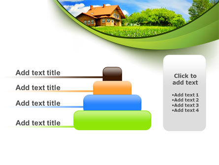 Village House PowerPoint Template Slide 8