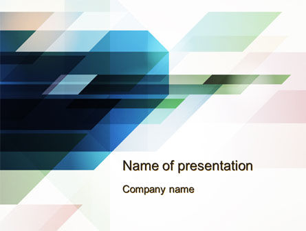 Rhombs PowerPoint Template