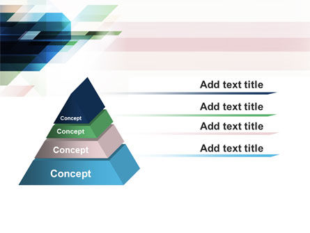 Rhombs PowerPoint Template Slide 12