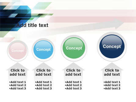 Rhombs PowerPoint Template Slide 13