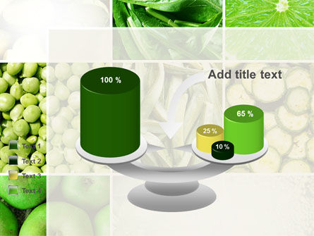 Green Vitamins PowerPoint Template Slide 10