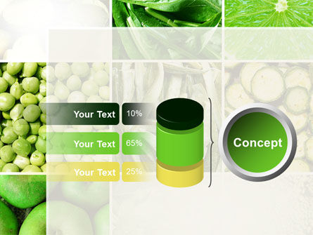 Green Vitamins PowerPoint Template Slide 11