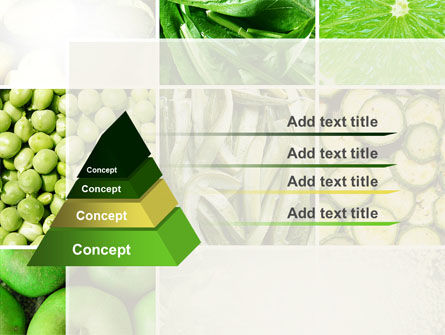 Green Vitamins PowerPoint Template Slide 12