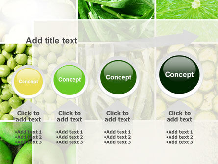 Green Vitamins PowerPoint Template Slide 13