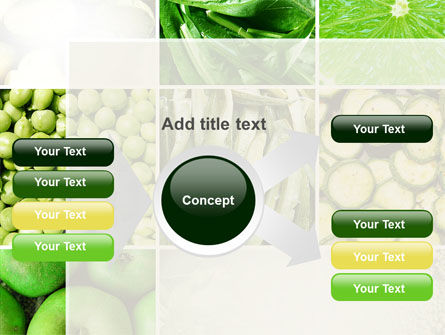 Green Vitamins PowerPoint Template Slide 14