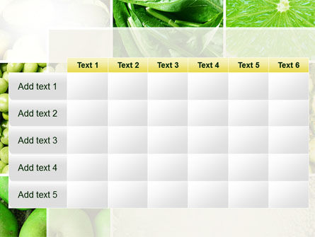 Green Vitamins PowerPoint Template Slide 15