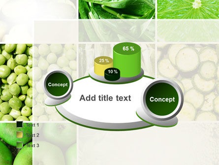 Green Vitamins PowerPoint Template Slide 16