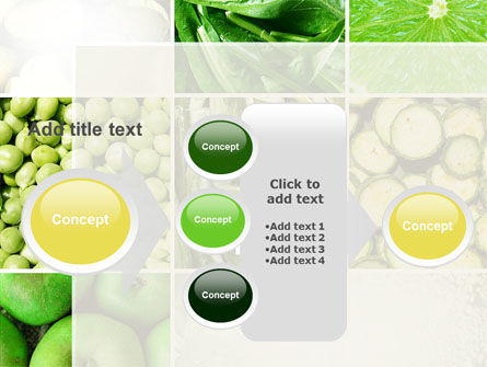 Green Vitamins PowerPoint Template Slide 17
