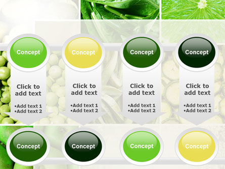 Green Vitamins PowerPoint Template Slide 18