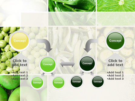 Green Vitamins PowerPoint Template Slide 19